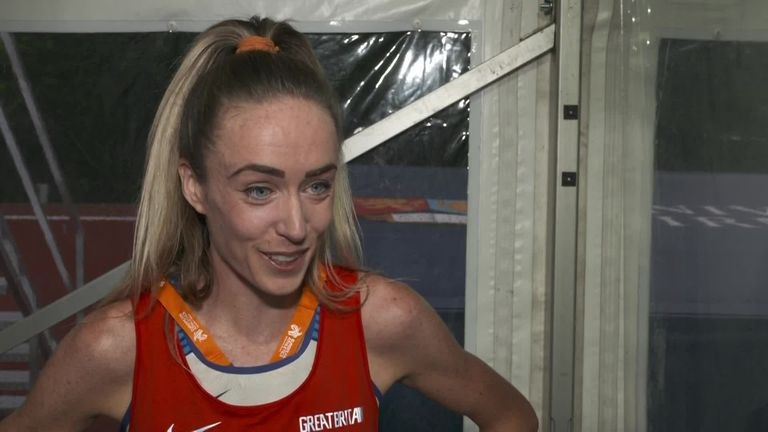 Eilish McColgan says she is so excited ahead of the Tokyo Olympics after winning the British 10,000m championships and securing her place in the British team