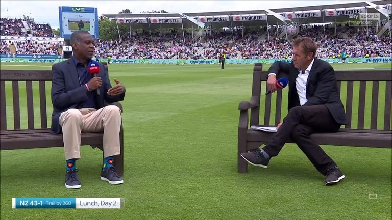 Michael Holding chats to Ian Ward about his new book, his experiences with racism and the importance of continuing to take the knee