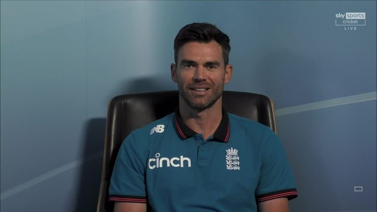 England's James Anderson talks to Nasser Hussain about hisillustrious career as he becomes the country's most-capped Test cricketer of all time