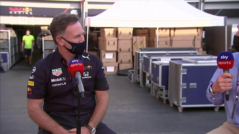 Christian Horner says Sergio Perez has been brilliant all weekend after clinching the win in Baku