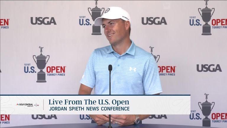 US Open: Jordan Spieth shrugs off injury scare ahead of major at Torrey Pines  