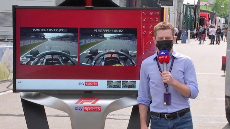 Anthony Davidson vergleicht die ausgelassene Runde von Lewis Hamilton und die schnellste Runde von Max Verstappen aus dem zweiten Training vor dem Großen Preis von Steiermark