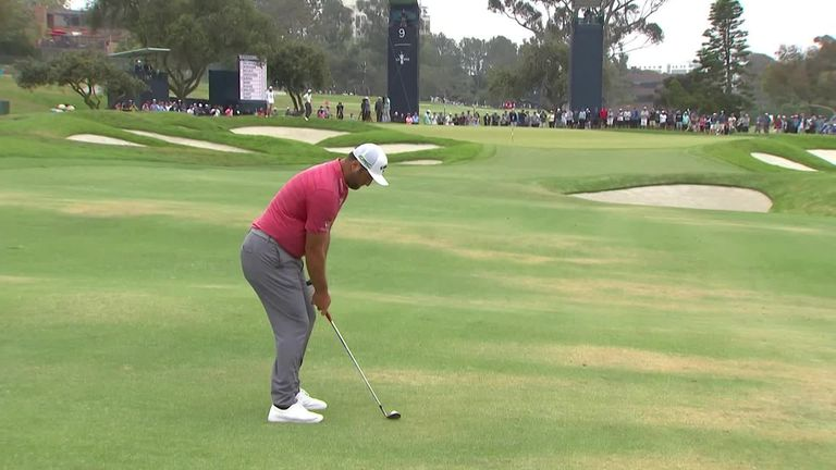 A look back at the best of the action from a thrilling final round at the 121st US Open at Torrey Pines, where several players challenged for major victory.
