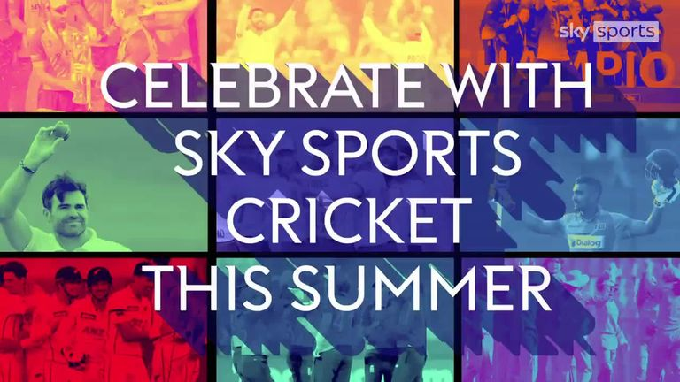 Join Sky Sports Cricket for an action-packed summer of cricket including men's and women's internationals plus The Hundred!