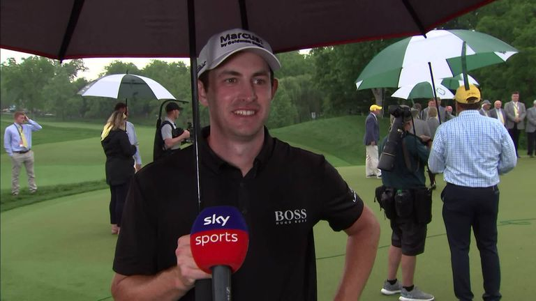 Patrick Cantlay admitted Jon Rahm's withdrawal shocked the field at The Memorial, but it did not dampen his mood after winning the title for the second time.