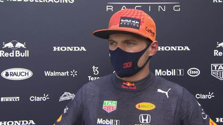 Red Bull's Max Verstappen is anticipating another close battle with Mercedes at the French Grand Prix