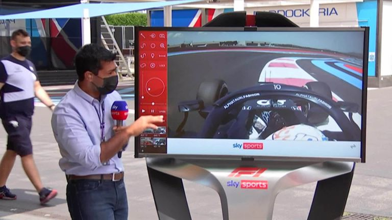 Karun Chandhok takes a look at all the incidents from FP1 of the French GP.