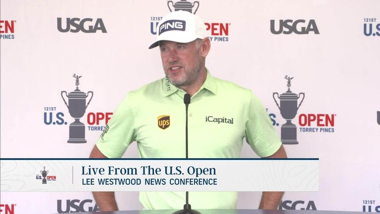 US Open: Lee Westwood looks to get back in shape and fight for major win at Torrey Pines |  Golf news