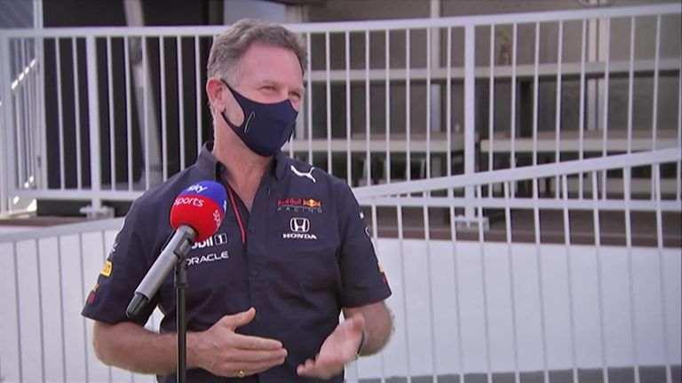 Red Bull boss Christian Horner had some strong words for title rivals Mercedes as the flexi-wing debate continues into this weekend's Azerbaijan GP