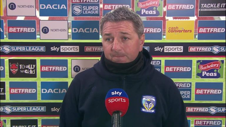Steve Price spoke after an immense defensive display from the Wolves