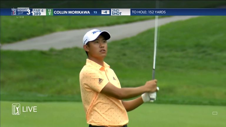 The Memorial Tournament: Collin Morikawa holds clubhouse lead after