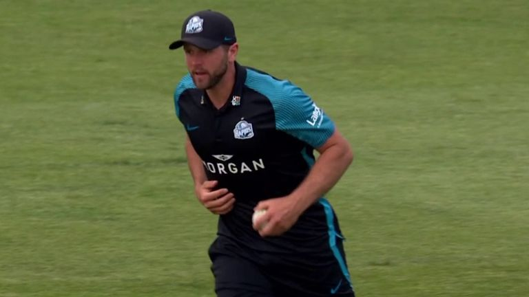Vitality Blast: Notts tied with Worcestershire;  Liam Livingstone hits 94 unbeaten in Lancashire victory    Cricket News