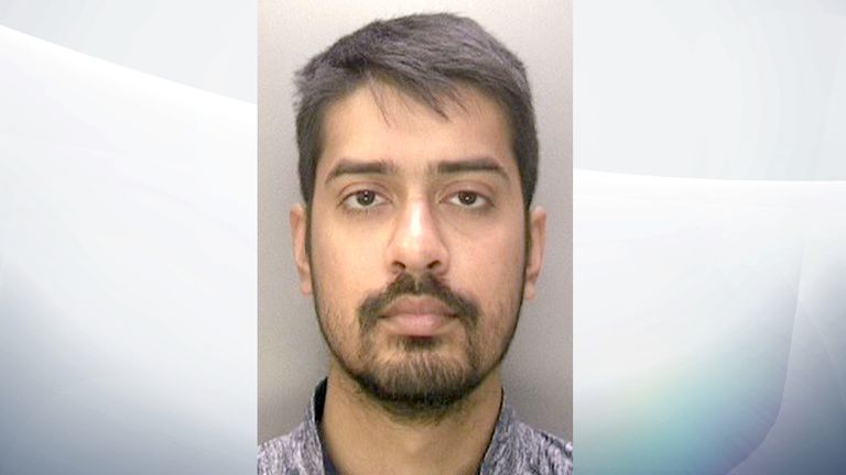 """Abdul Elahi admitted to 158 offences  in what has been described as """"industrial-scale"""" offending. Pic issued by the National Crime Agency"""