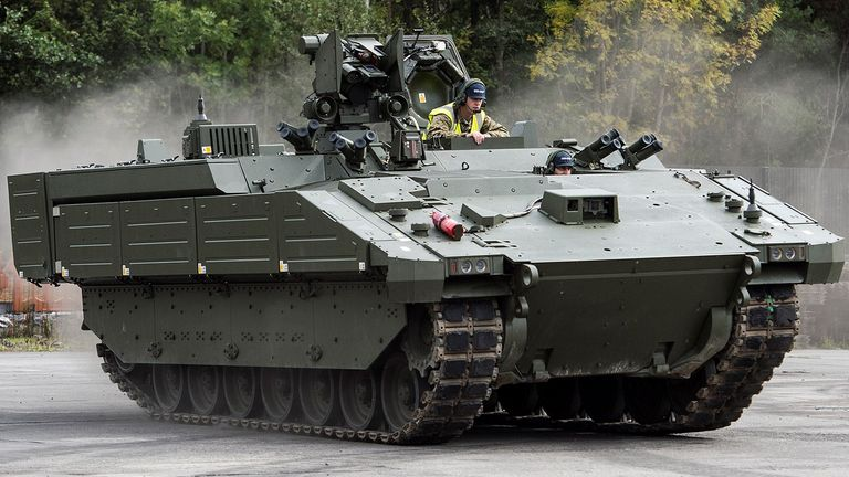 Ares, one of the Ajax family of armoured vehicles, is being tested by the Household Cavalry Pic: General Dynamics UK