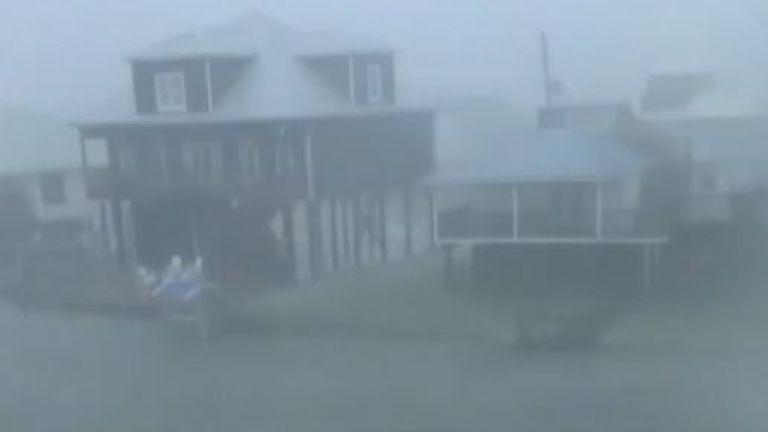 Storm Claudette lashes Alabama