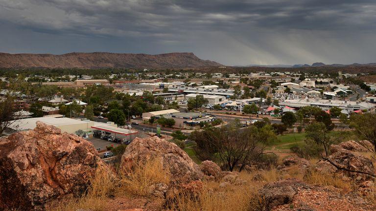 Alice Springs is now under lockdown