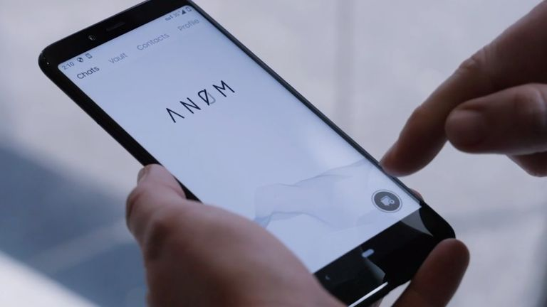 The ANOM app supposedly offered secure encrypted messaging. Source: Australian Federal Police