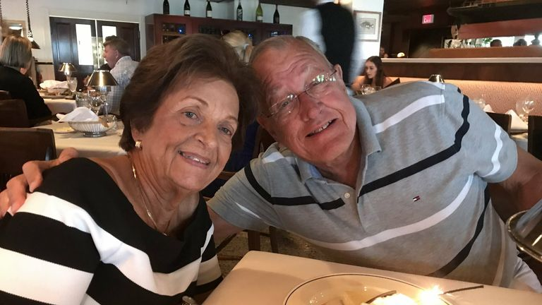 Antonio and Gladys Lozano, 83 and 79, lived in apartment 903
