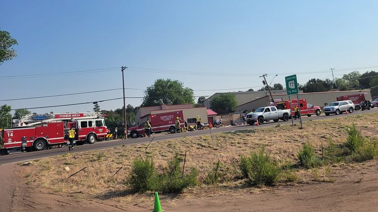 Pic: Facebook/Timber Mesa Fire and Medical District
