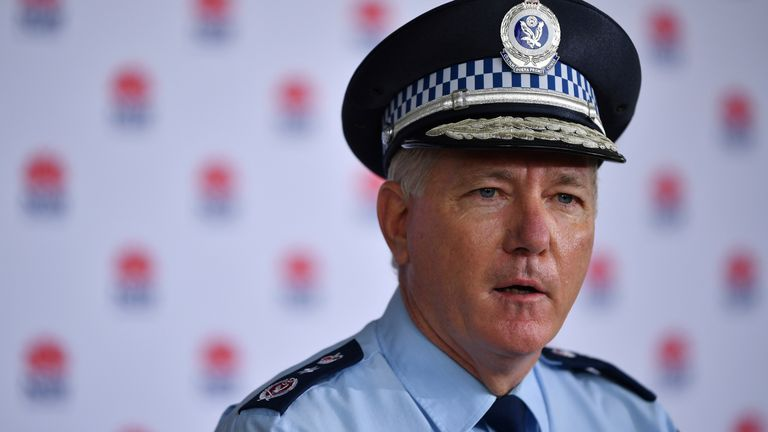New South Wales Police Commissioner Mick Fuller described the two men as being 'idiots'