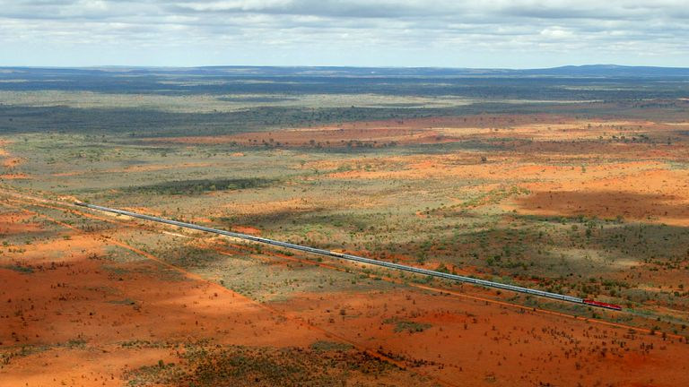 Alice Springs acts as a hub for remote areas in the Australian Outback