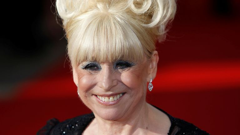 Barbara Windsor, who was diagnosed with Alzheimer's in 2014, is pictured here in London in 2009