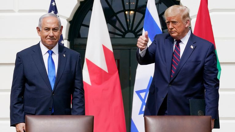 Netanyahu is said to have used Trump-style tactics long before the former US president came to power