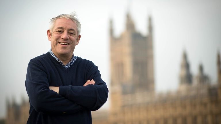 Speaker of the House of Commons, John Bercow walks over Westminster Bridge from a session in the gym this morning on his last day as Speaker of the House of Commons, after 10 years in the chair. PA Photo. Picture date: Thursday October 31, 2019. A replacement for Mr Bercow will be elected in due course ... with favourites including his deputy Sir Lindsay Hoyle and former deputy prime minister Harriet Harman. See PA story POLITICS Bercow . Photo credit should read: Stefan Rousseau/PA Wire
