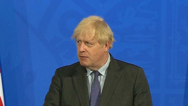 Boris explains why he is delaying
