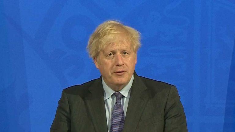 Boris announces delay to 21 June
