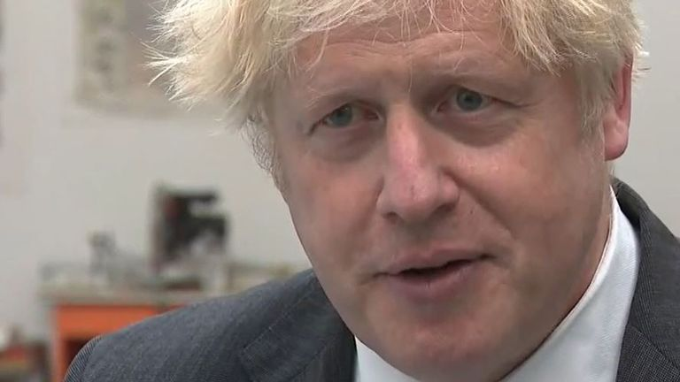 Boris Johnson reflects on a 'disappointing' by-election result