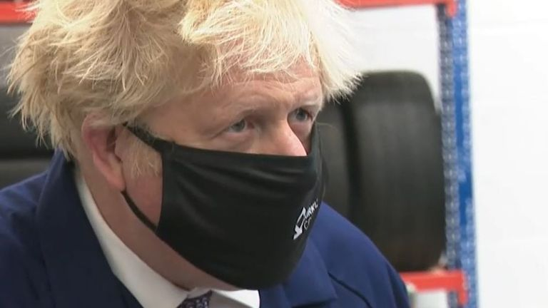 Boris Johnson insists that public health is priority over UEFA VIPs