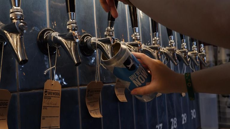 Brewdog Brewery Faucets