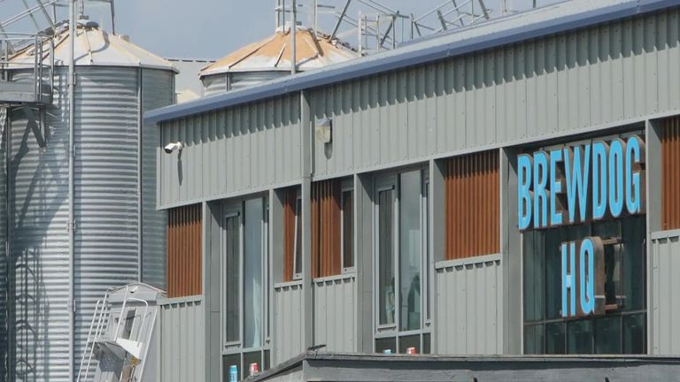 Brewdog HQ in Aberdeenshire