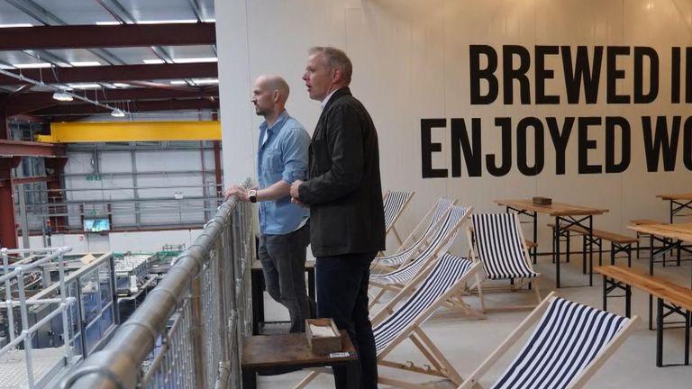 Sky's business correspondent Paul Kelso spoke to Brewdog boss James Watt