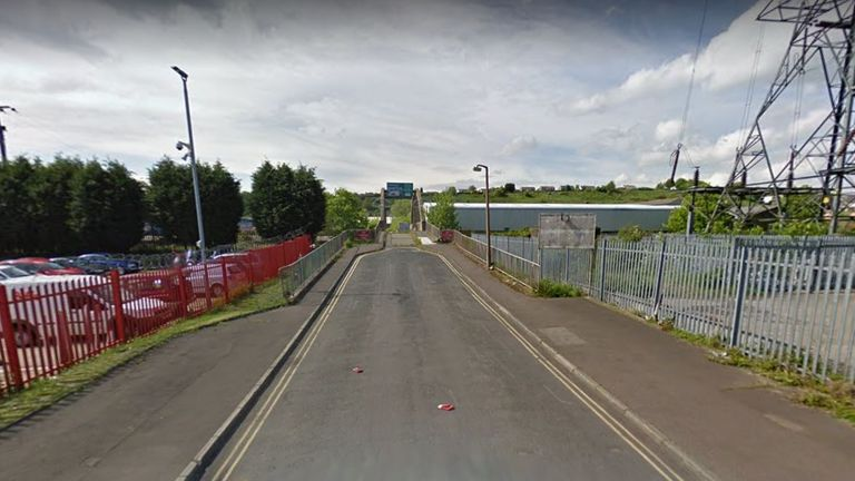 Witnesses claim teenagers jumped into the water from a bridge over the River Calder. Pic: Google Street View