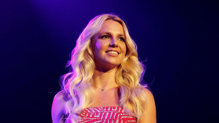 Britney Spears pictured in 2011