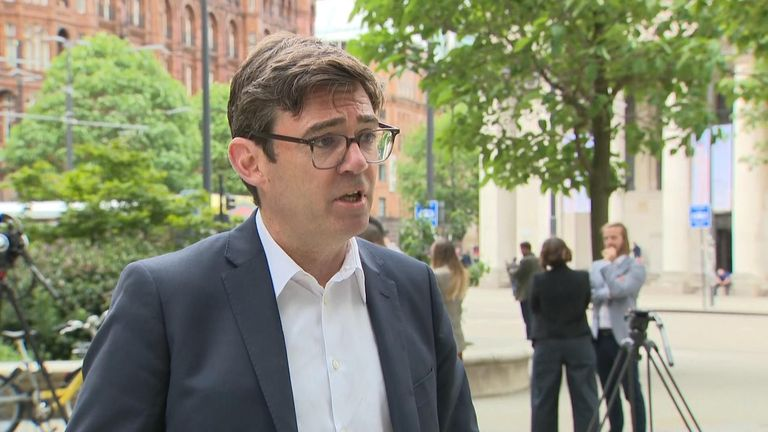 Mayor of Greater Manchester  Andy Burnham responds to Nicola Sturgeon regarding the travel ban imposed by Holyrood.