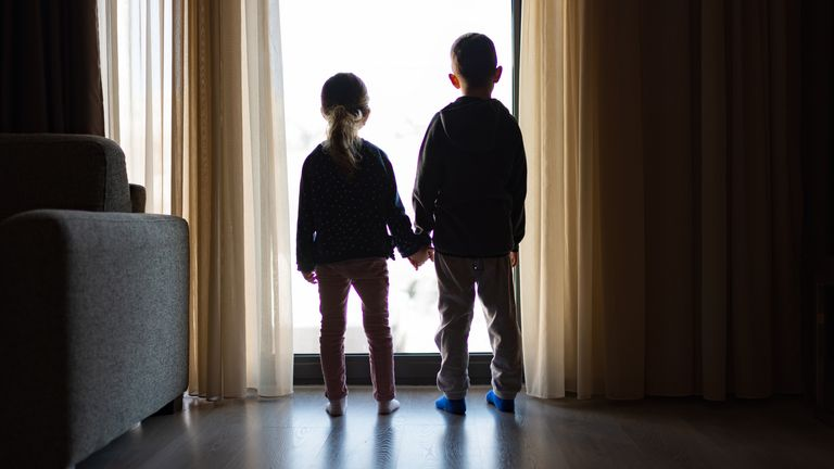 'We are failing to build lifelong loving relationships around these children,' the report says