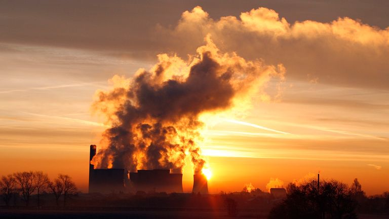 Coal is one of the most carbon-intensive fossil fuels and creates harmful air pollution. File pic