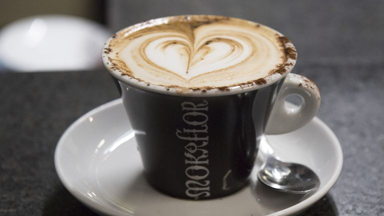 The research found that drinking three to four cups of coffee a day can reduce the risk of chronic liver disease
