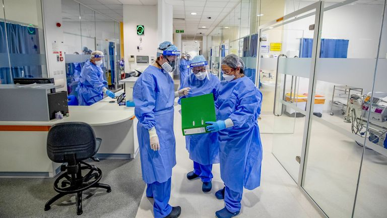 Experts say the study highlights the need to update PPE guidance. File pic