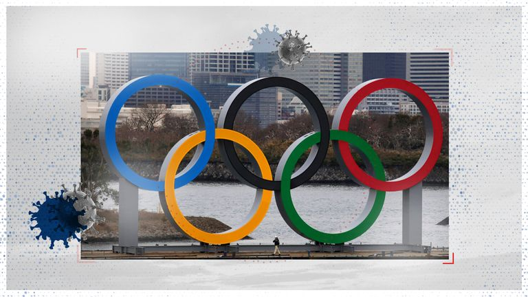 Sixty-three per cent of the public in Japan are reportedly opposed to holding the Olympics