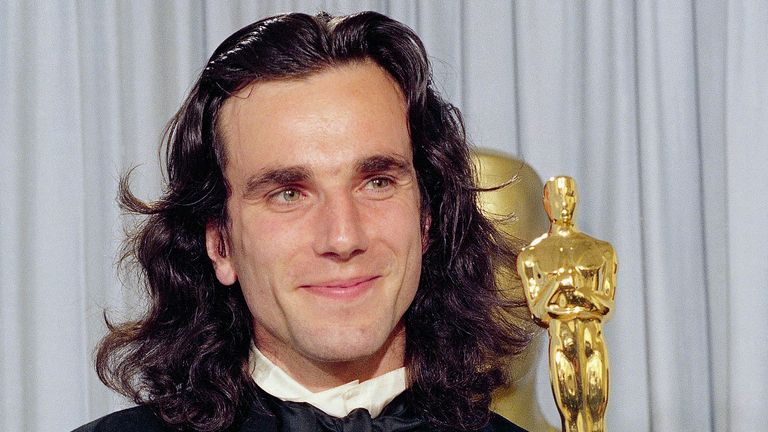 Daniel Day-Lewis won the best actor Oscar for his performance in My Left Foot. Pic: AP