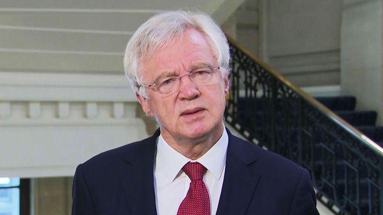 Ex-Brexit Secretary David Davis MP