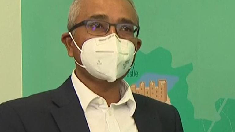 Dr Arnab Basu's company has developed a device to scan air for COVID