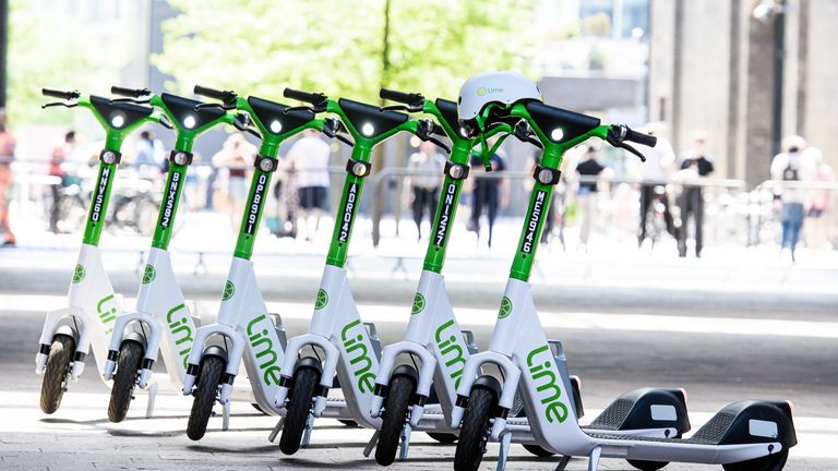 TfL is trialling the use of e-scooters on London roads, as is parts of the West Midlands