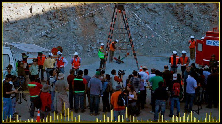 Gli sforzi di salvataggio sono iniziati in superficie dopo che sono stati trovati i minatori