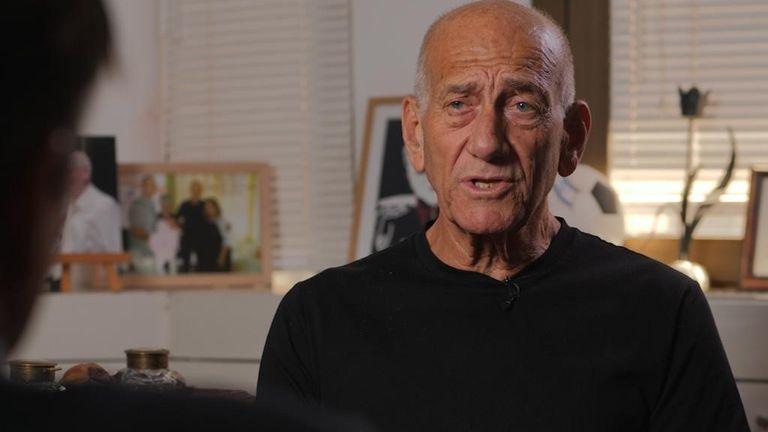 Ehud Olmert, Netanyahu's predecessor as prime minister, said 'we were never friends' but Netanyahu is 'a genius'