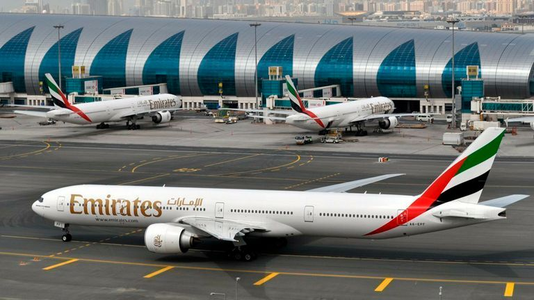 Emirates is the Middle East's largest carrier. Pic AP